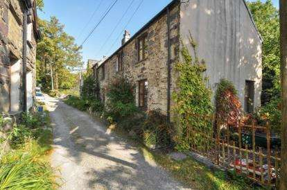 2 Bedrooms Terraced House for sale in Dinorwic Cottages, Dinorwic, Caernarfon, Gwynedd, LL55