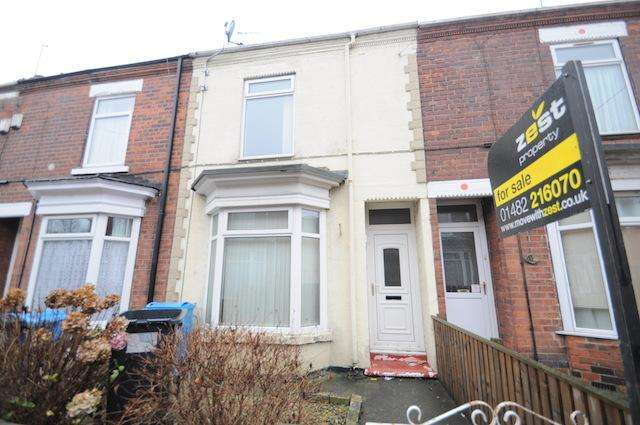 2 Bedrooms Terraced House for sale in Park Grove, Wynburg Street, Hull, HU9 2PD