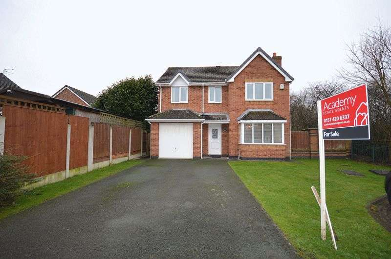4 Bedrooms Detached House for sale in Toft Close, Widnes