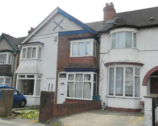3 Bedrooms Terraced House for sale in three bedroom, terraced house, Ilsley Road, Erdington, B23