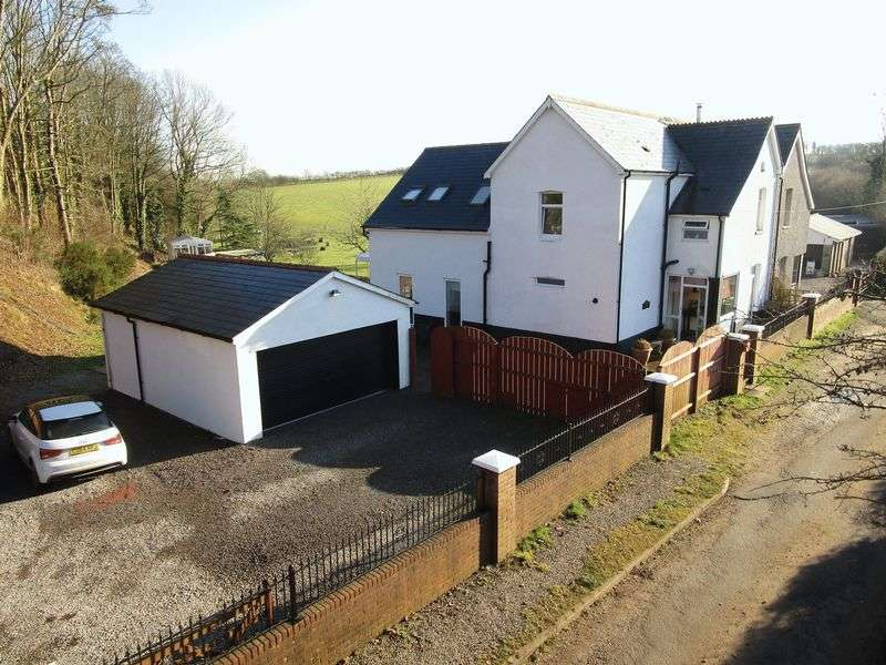 4 Bedrooms Semi Detached House for sale in 1 Sant-Y-Nyll Cottages, St Y Nyll Lane, St Brides Super Ely, Vale of Glamorgan, CF5 6HF