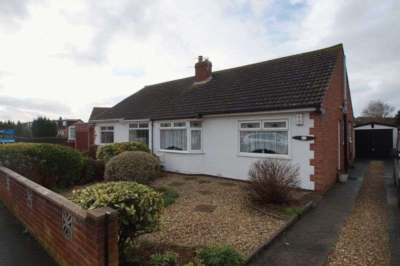 2 Bedrooms Semi Detached Bungalow for sale in Ashcott Drive, Burnham-On-Sea