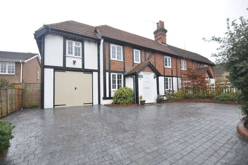 4 Bedrooms Semi Detached House for sale in Aldershot Road, Church Crookham