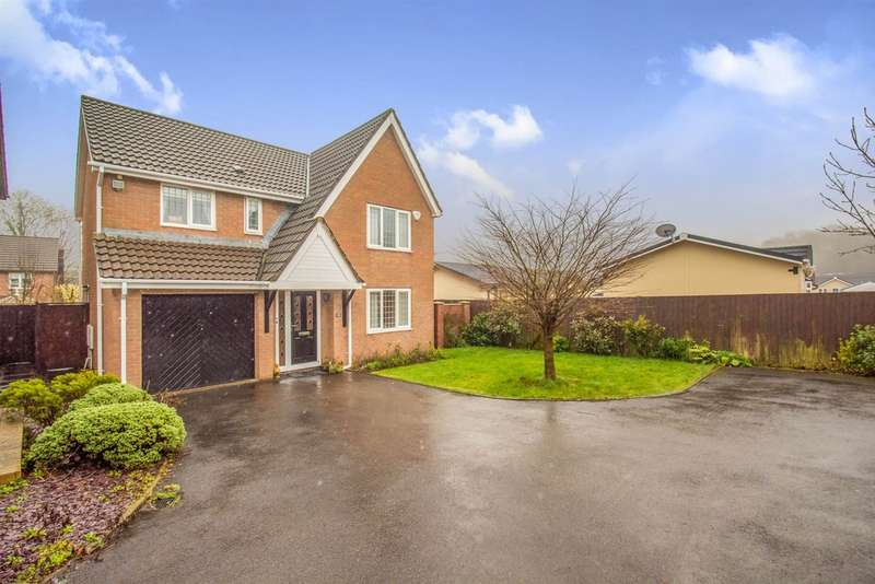 4 Bedrooms Detached House for sale in Heol Collen, Cardiff