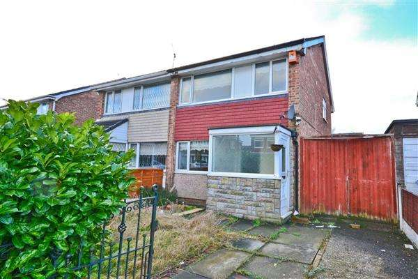 3 Bedrooms Semi Detached House for sale in Sturton Avenue, Wigan