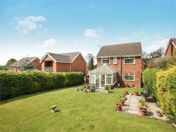 4 Bedrooms Detached House for sale in Rhodfa Gofer, Dyserth, Rhyl, Denbighshire