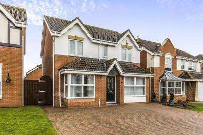 4 Bedrooms Detached House for sale in Carriage Walk, Eaglescliffe, Stockton-On-Tees, .