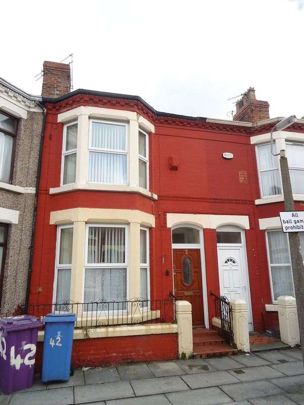 4 Bedrooms Terraced House for sale in Liscard Road, Liverpool