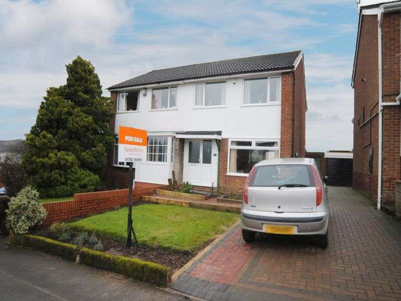 3 Bedrooms Semi Detached House for sale in Andover Close, Adderley Green, Stoke-On-Trent, ST3 5RA