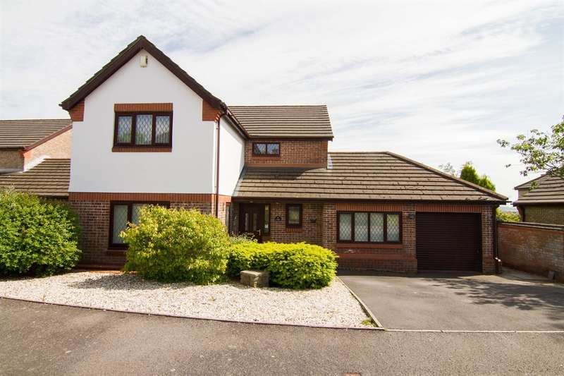 4 Bedrooms Detached House for sale in Bryn Rhedyn, Tonteg, Pontypridd