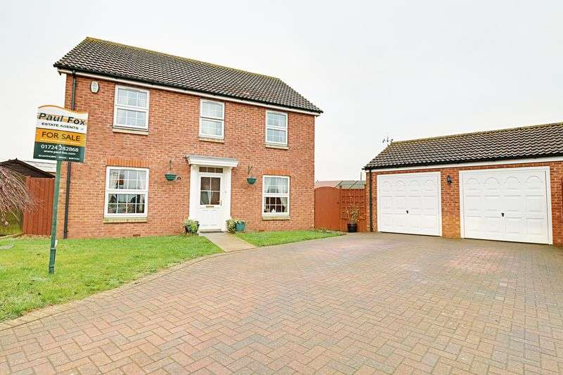 4 Bedrooms Detached House for sale in Johnson Drive, Gainsborough
