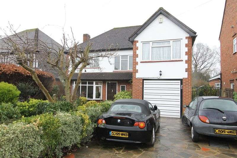 4 Bedrooms Detached House for sale in Westcott Way, Cheam