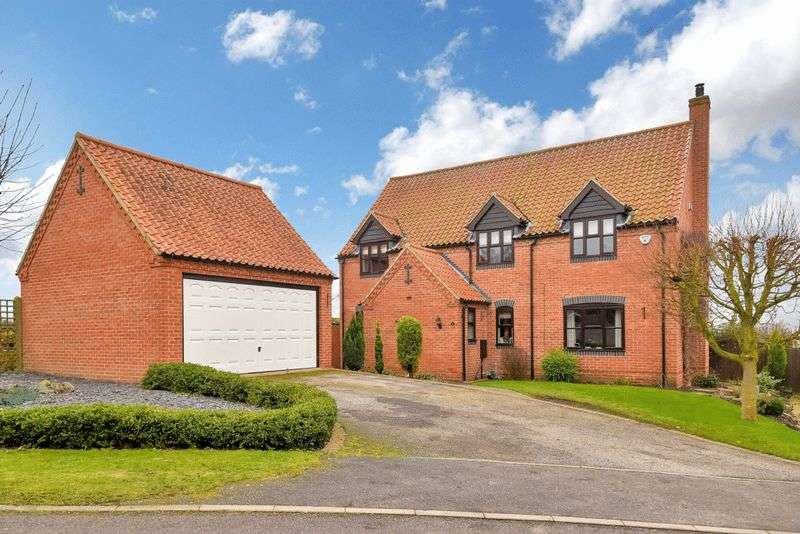 4 Bedrooms Detached House for sale in Foxhall Close, Norwell
