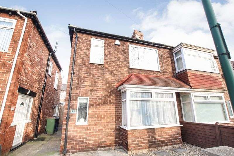 3 Bedrooms Semi Detached House for sale in Buckingham Road, Redcar