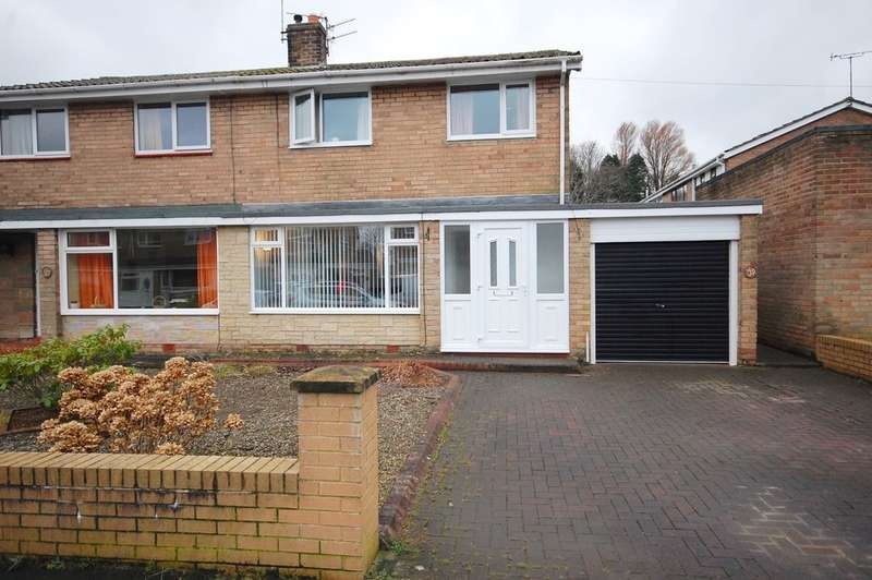 3 Bedrooms Semi Detached House for sale in Tanmeads, Nettlesworth, Durham