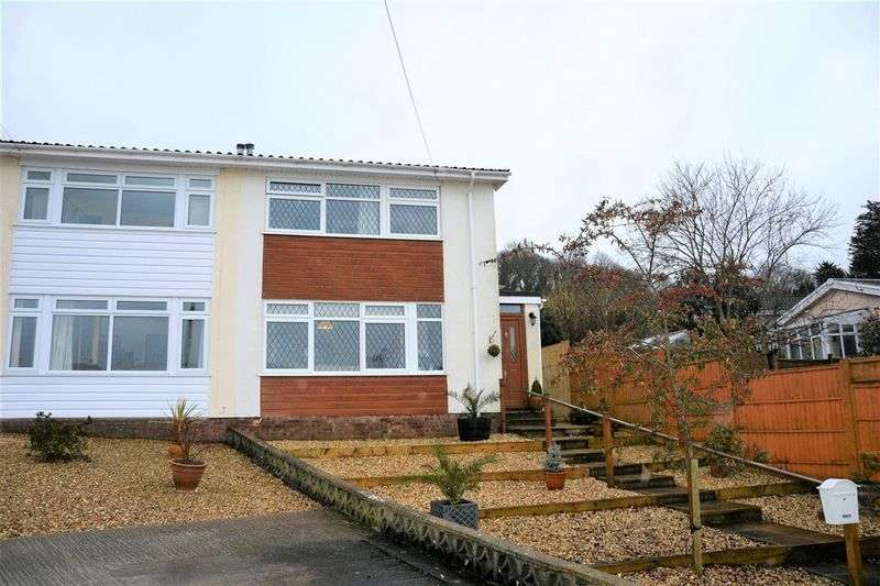 3 Bedrooms Semi Detached House for sale in Haywood Close, Weston-Super-Mare