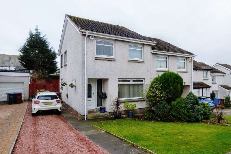 3 Bedrooms Semi Detached House for sale in Whiteshaw Avenue, Carluke