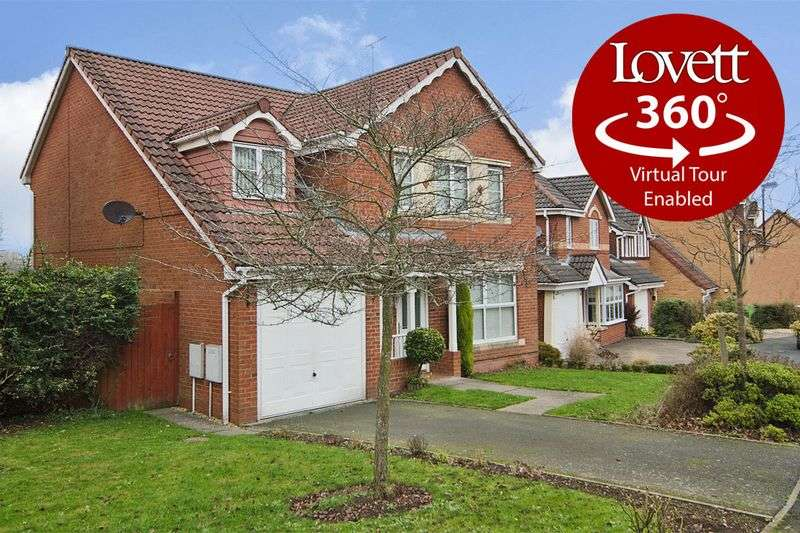 5 Bedrooms Detached House for sale in Burnthill Lane, Rugeley