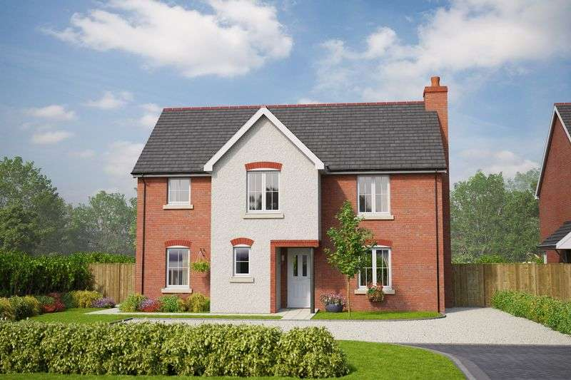 4 Bedrooms Detached House for sale in Llandyrnog