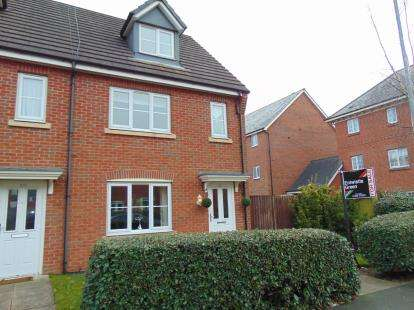 4 Bedrooms Semi Detached House for sale in Rylands Drive, Warrington, Cheshire, WA2