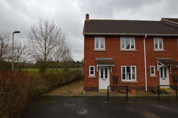 3 Bedrooms End Of Terrace House for sale in Cromwells Meadow, Crediton, Devon