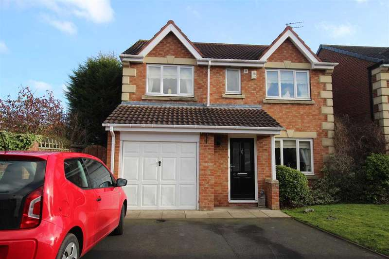 4 Bedrooms Detached House for sale in Lapford Drive, Northburn Green, Cramlington