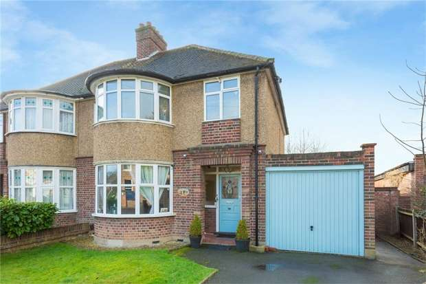 3 Bedrooms Semi Detached House for sale in 27 Orchard Drive, UXBRIDGE, Middlesex