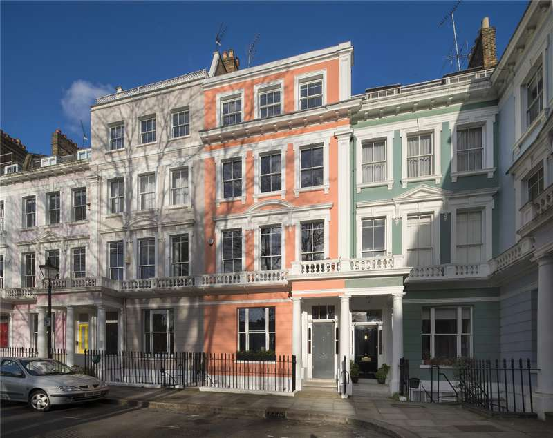 5 Bedrooms Terraced House for sale in Chalcot Square, London, NW1