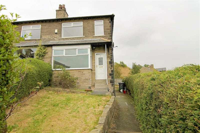 2 Bedrooms Semi Detached House for sale in Woodroyd Crescent, Luddenden Foot, Halifax