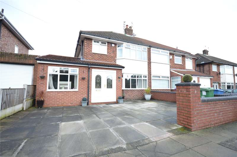 3 Bedrooms Semi Detached House for sale in Rosefield Road, Woolton, Liverpool, L25