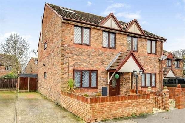 5 Bedrooms Semi Detached House for sale in Hodges Close, Havant, Hampshire