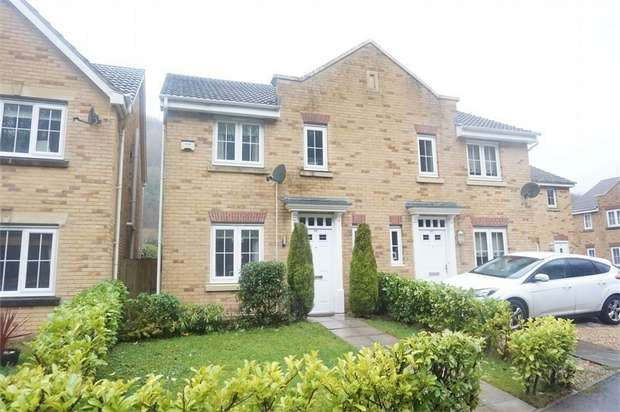 3 Bedrooms Semi Detached House for sale in Coed Celynen Drive, Abercarn, NEWPORT, Caerphilly