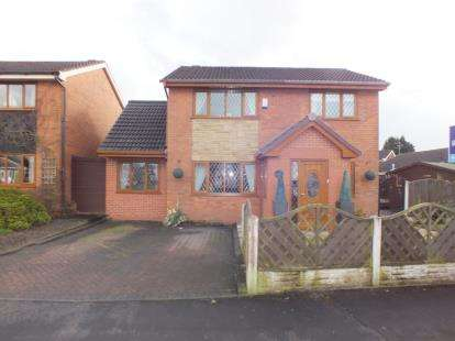 4 Bedrooms Detached House for sale in Higher Meadow, Clayton-Le-Woods, Leyland