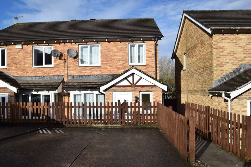 3 Bedrooms Semi Detached House for sale in 28 Pen Llwyn, Broadlands, Bridgend, Bridgend County Borough, CF31 5AZ.