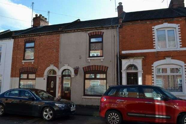2 Bedrooms Terraced House for sale in Gray Street, The Mounts, Northampton NN1 3QQ