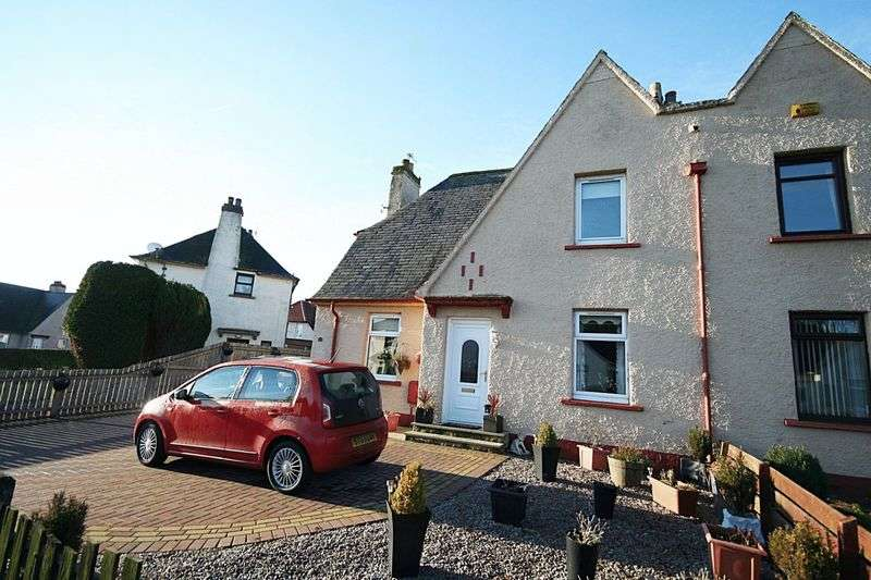 3 Bedrooms Semi Detached House for sale in Scoonie Drive, Leven