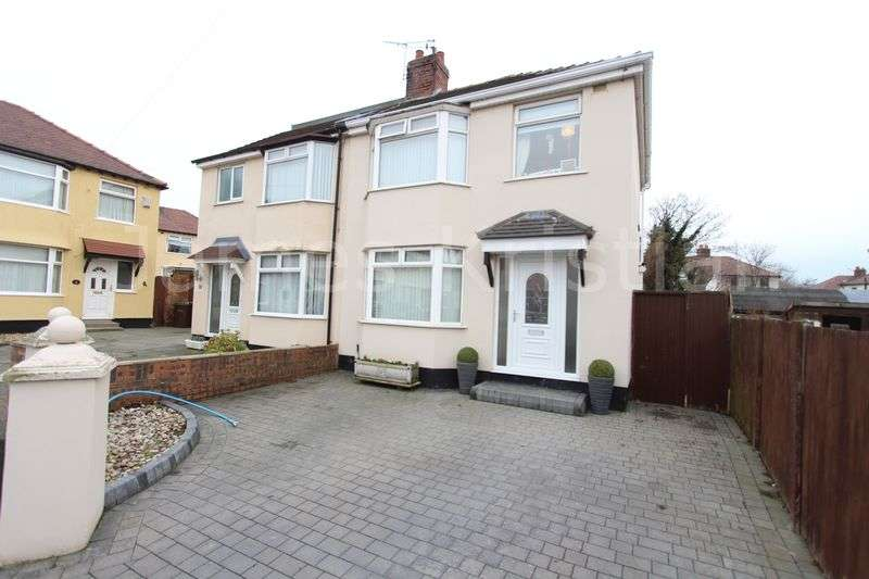 3 Bedrooms Semi Detached House for sale in Kinley Gardens, Bootle