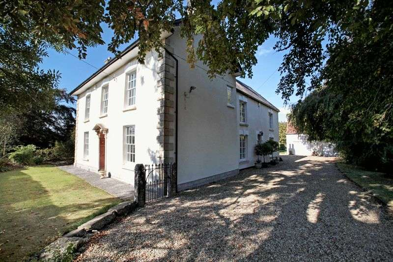 5 Bedrooms Detached House for sale in Old Auster, The Causeway, Mark, Near Wedmore, Somerset