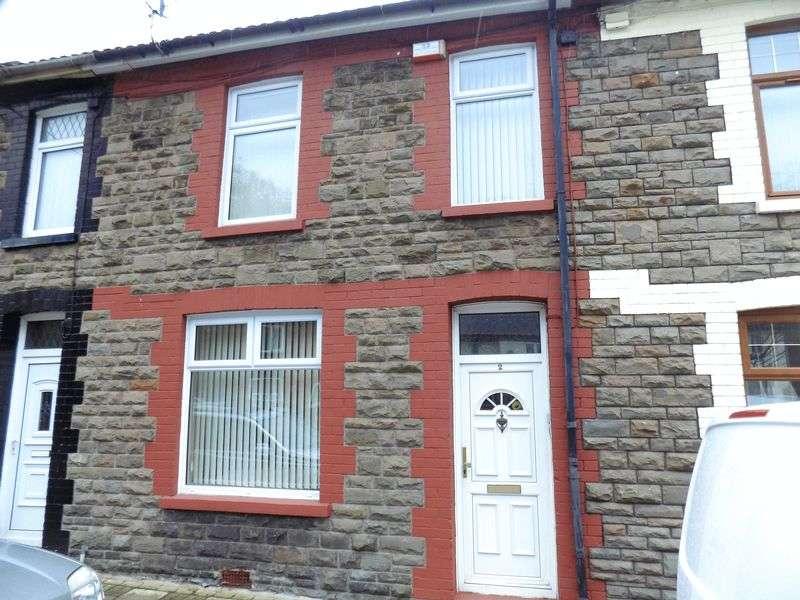 3 Bedrooms Terraced House for sale in Gelligroes Road , Pontllanfraith