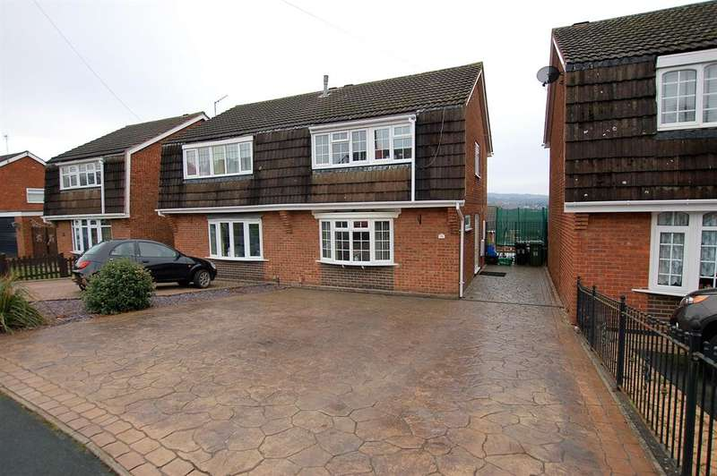 3 Bedrooms Semi Detached House for sale in Hordern Crescent, Brierley Hill, DY5 2ND
