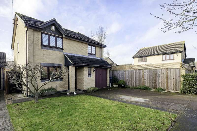 4 Bedrooms Detached House for sale in Chedburgh, WELWYN GARDEN CITY, Hertfordshire