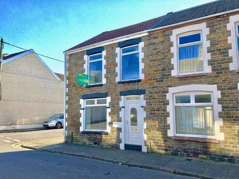 3 Bedrooms End Of Terrace House for sale in Southgate Street, Melin, Neath