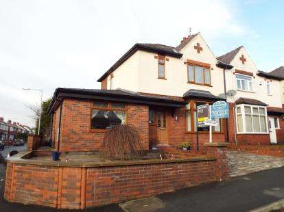 3 Bedrooms Semi Detached House for sale in Brentford Avenue, Smithills, Bolton, Greater Manchester, BL1