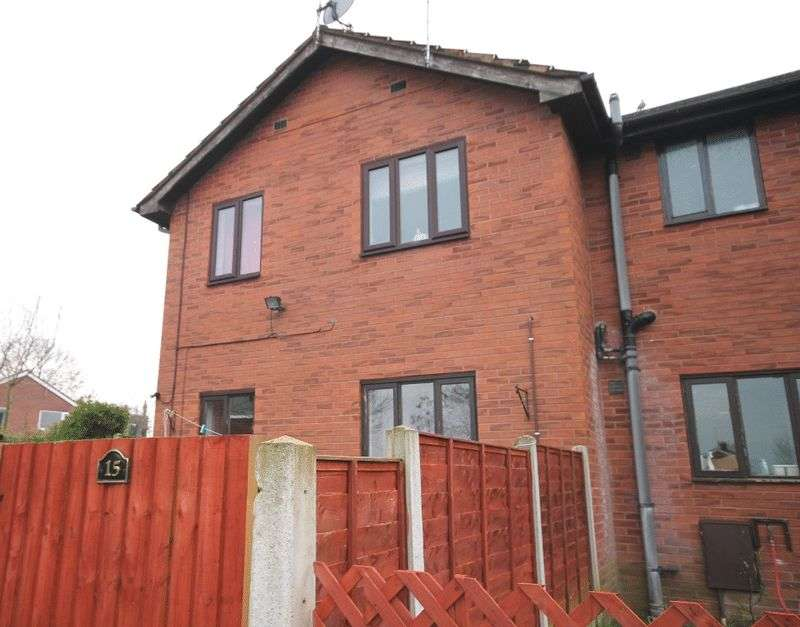 2 Bedrooms Terraced House for sale in Portland Drive, Market Drayton