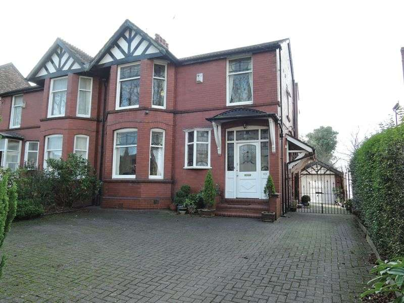 4 Bedrooms Semi Detached House for sale in Grange Avenue, Levenshulme