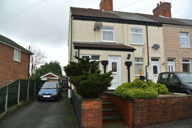 2 Bedrooms Terraced House for sale in Blackwell Rd, Huthwaite, Sutton-in-Ashfield, NG17 2RG