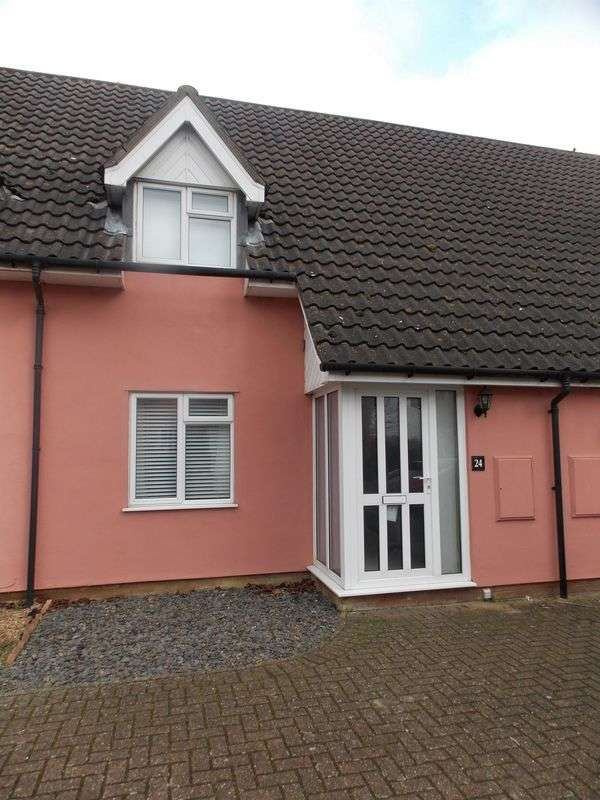 2 Bedrooms Terraced House for sale in Broad Meadow, Walsham Le Willows