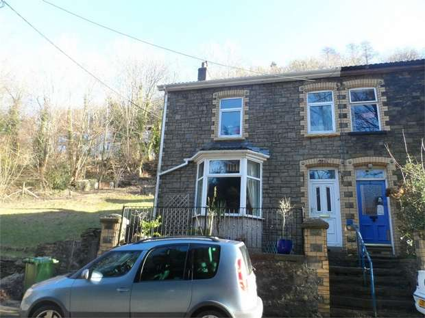 4 Bedrooms Semi Detached House for sale in Rhyswg Road, Abercarn, Newport, Caerphilly