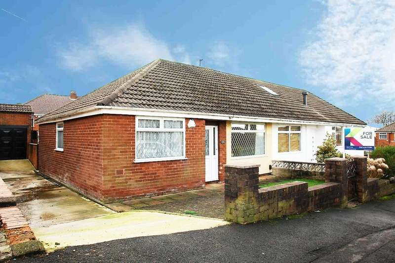 3 Bedrooms Semi Detached Bungalow for sale in Marlborough Road, Royton