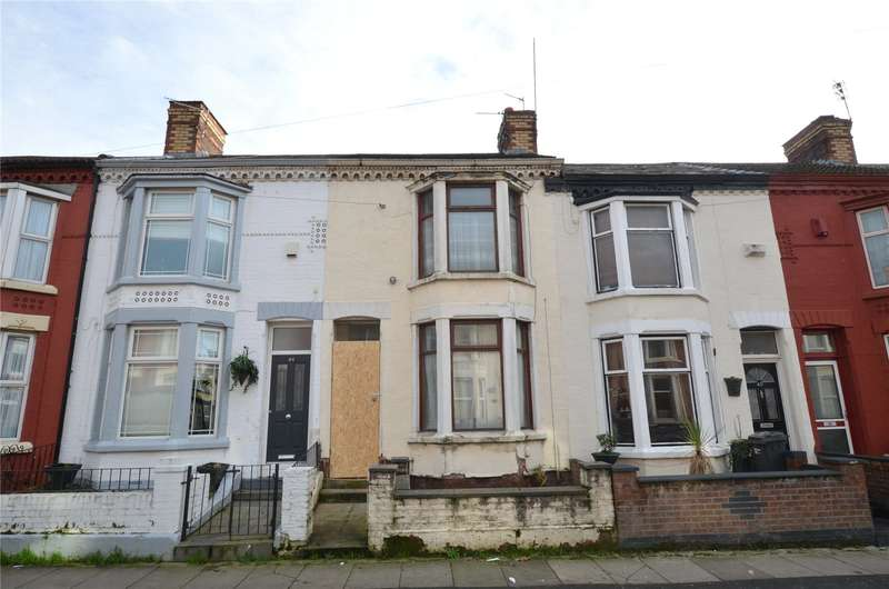 3 Bedrooms Terraced House for sale in Benedict Street, Bootle, Merseyside, L20